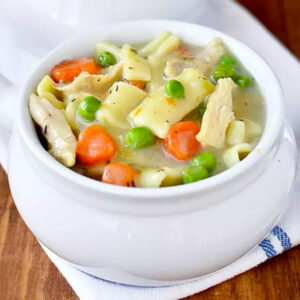 Gluten Free Homestyle Chicken and Noodles