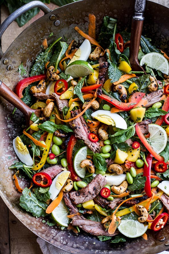 Thai-Steak-Salad-w-Sweet-+-Spicy-Tahini-Dressing-and-Sesame-Chili-Lime-Cashews.-8