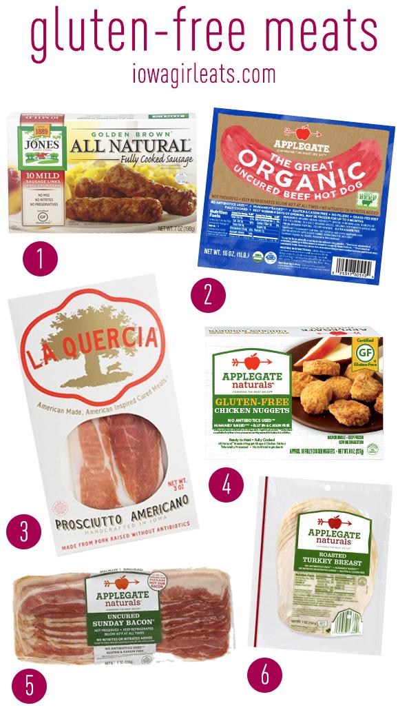 Favorite Gluten Free Meats | iowagirleats.com