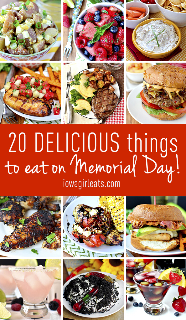 20 Delicious Things To Eat On Memorial Day | iowagirleats.com