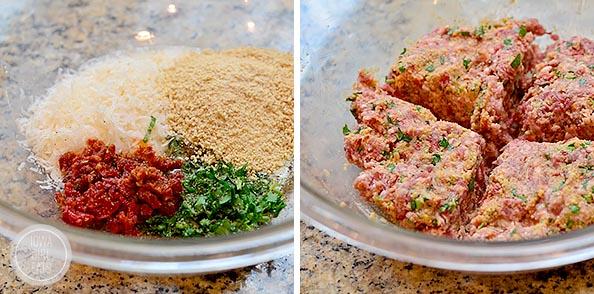 Prosciutto-Wrapped-Mediterranean-Lamb-Burgers-with-Bruschetta-iowagirleats-08