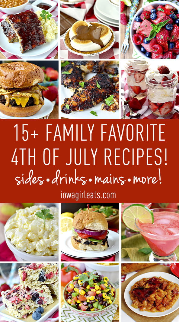 Family Favorite 4th of July Recipes | iowagirleats.com