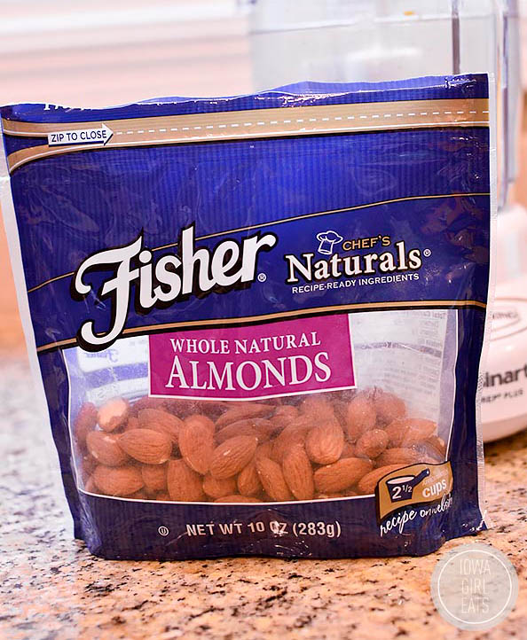 bag of fisher almonds