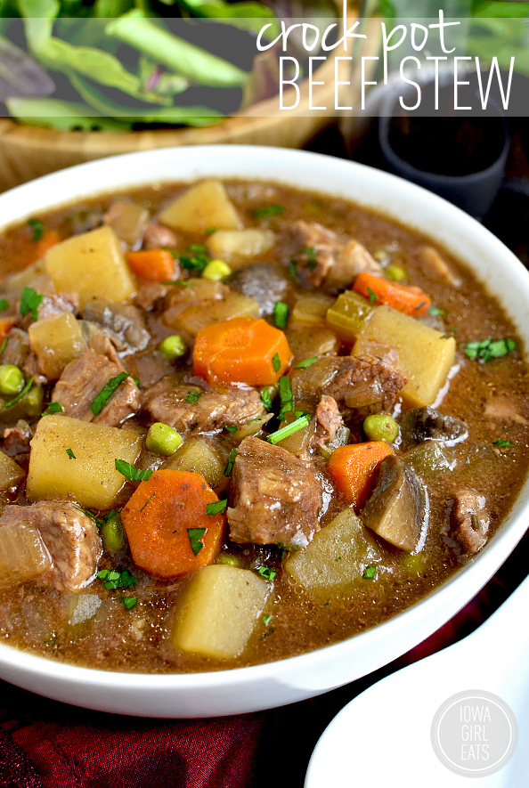 Crock Pot Beef Stew Iowa Girl Eats