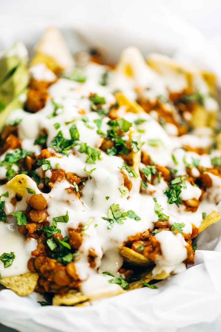 Vegetarian-Nachos