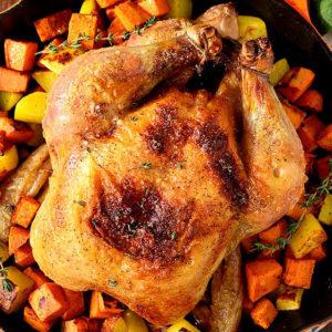 Cast Iron Roast Chicken