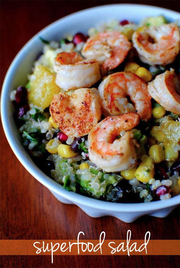 Superfood Salad #glutenfree #dairyfree   iowagirleats.com