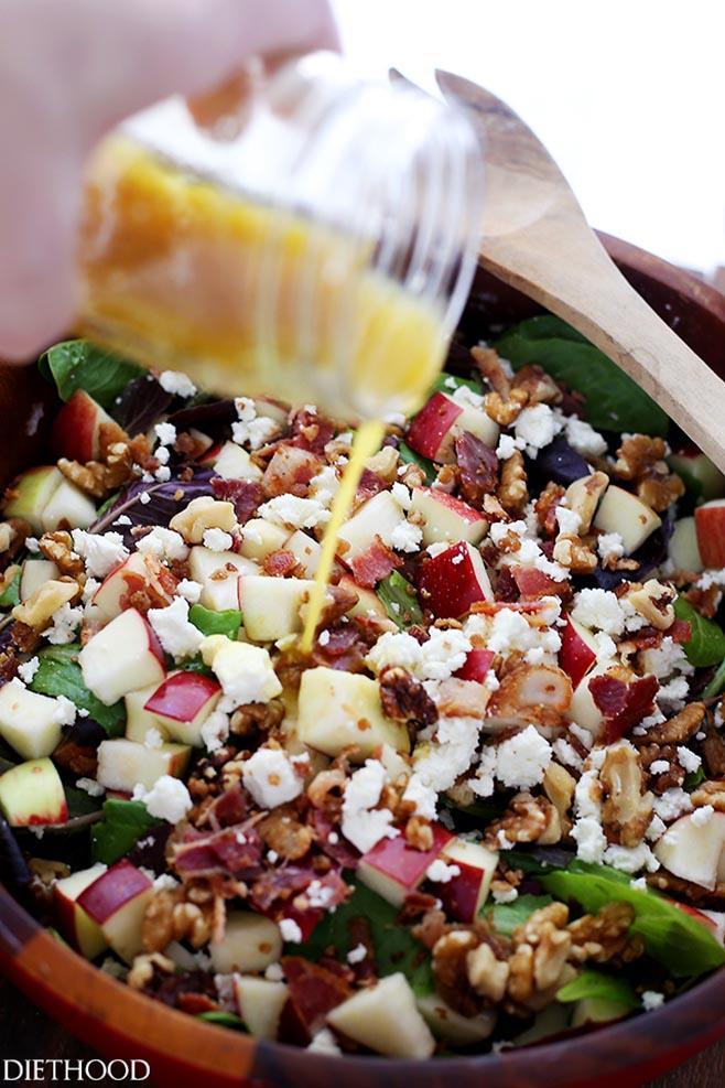 Apple-Bacon-Salad