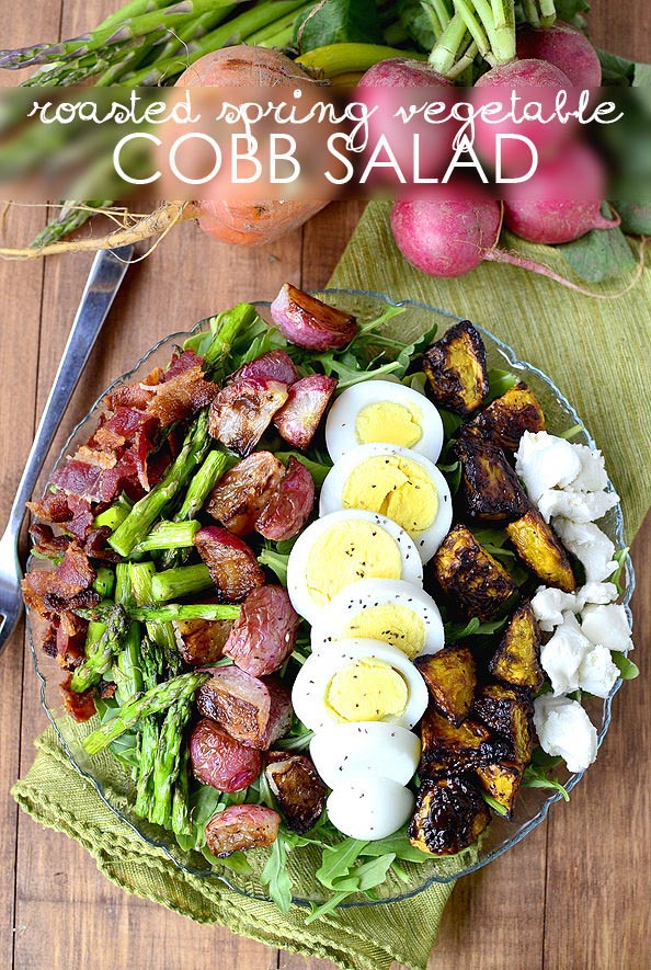Roasted-Spring-Vegetable-Cobb-Salad-iowagirleats