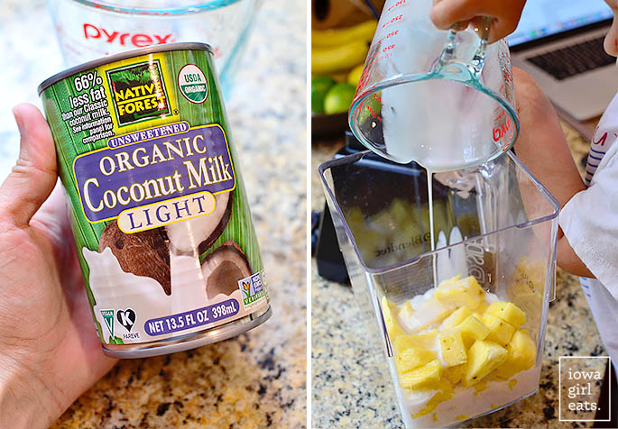Pineapple Coconut Mint Cooler Popsicles are a 3 ingredient, unsweetened, healthy popsicle recipe for the hottest of summer days!   iowagirleats.com