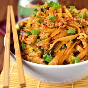 featured image of potsticker noodle bowls