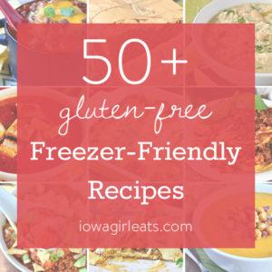 50+ Freezer Friendly Recipes