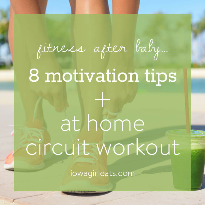 Try this At Home Circuit Workout to work your entire body - 30 minutes and your workout is done! | iowagirleats.com