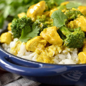 Lick Your Plate Coconut Chicken Curry