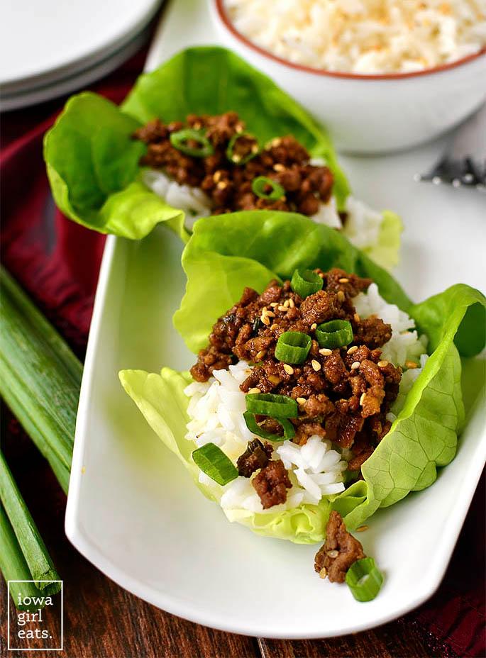 Korean Beef over rice