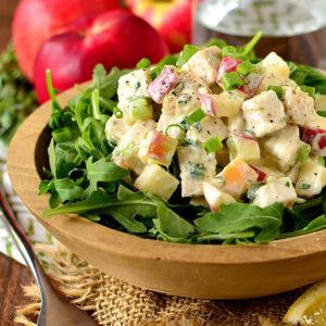 Apple Tarragon Chicken Salad