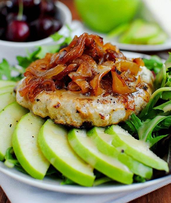 Orchard Turkey Burgers | iowagirleats.com