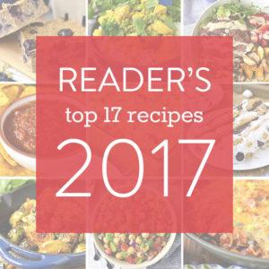 2017 Reader Favorite Recipes