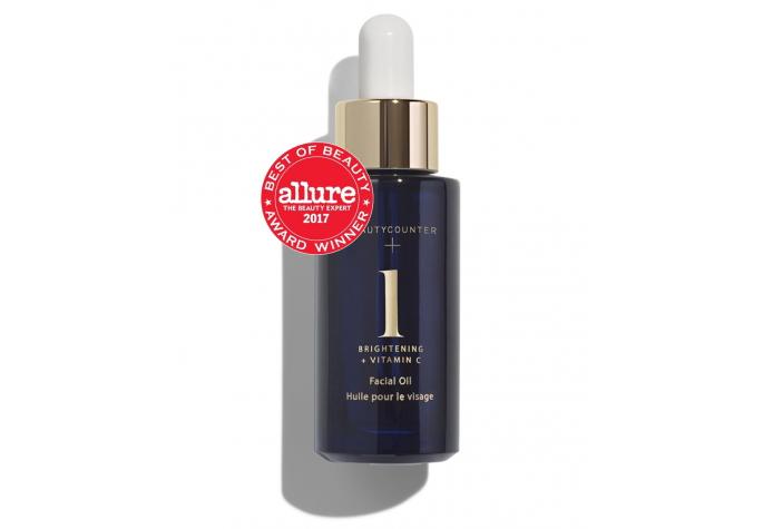 Bottle of Beautycounter Brightening Oil