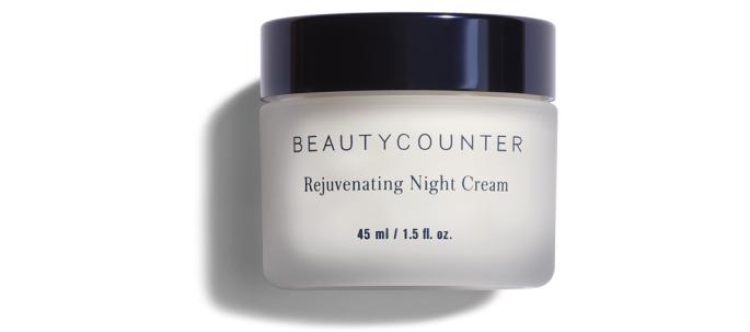 Bottle of Beautycounter Rejuvenating Night Cream