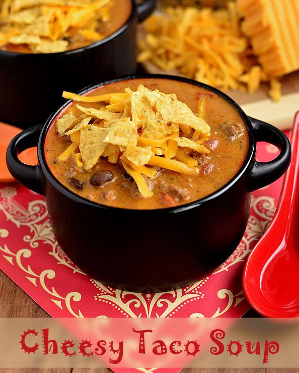 Photo of Cheesy Taco Soup