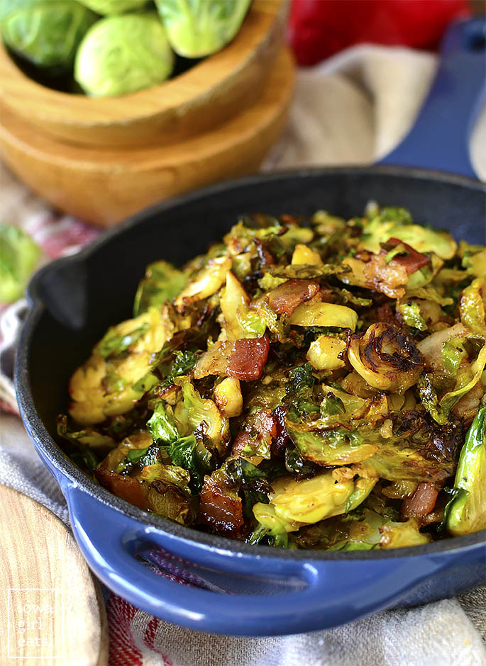 Pretty photo of Maple Bacon Brussels Sprouts
