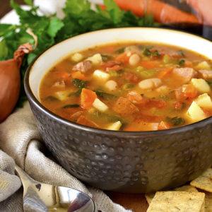 Tuscan Sausage and Vegetable Stew