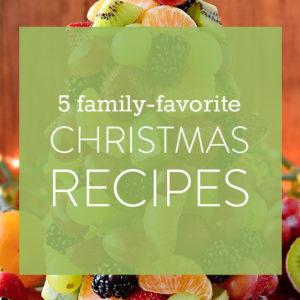 5 Family-Favorite Gluten Free Christmas Recipes