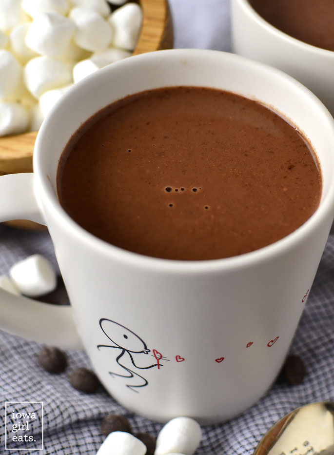 Mug of Easy Homemade Hot Chocolate