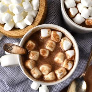 Easy Homemade Hot Chocolate (GF/DF)