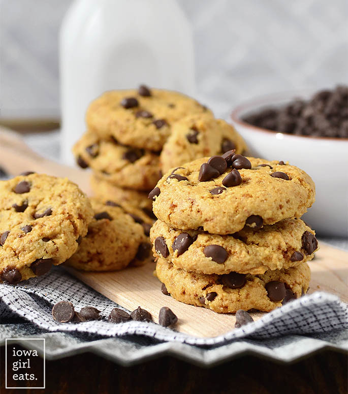 Photo of Almond Flour Chocolate Chip Cookies