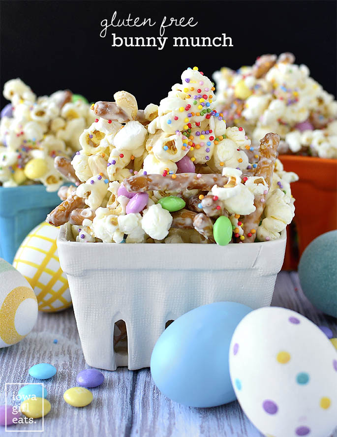 Bowls of Gluten Free Bunny Munch