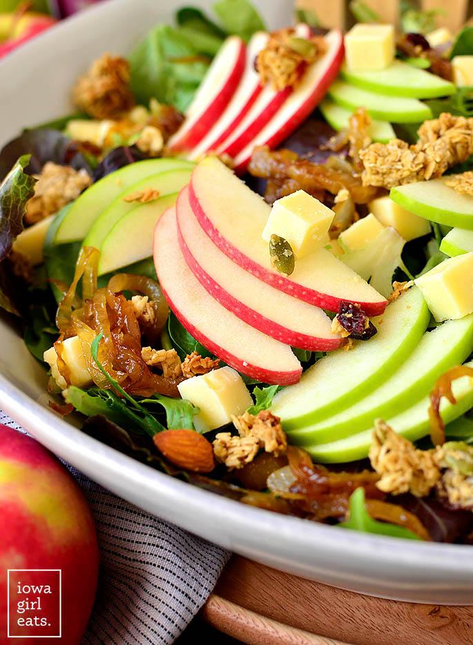 Close up photo of Apple Orchard Salad