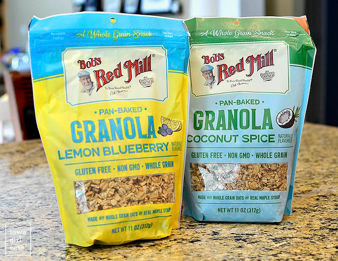 bags of Bob's Red Mill Granola