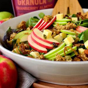 Apple Orchard Salad with Maple-Dijon Vinaigrette