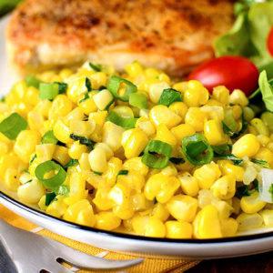 Summer Sweet Corn Saute