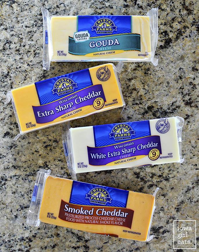 Crystal Farms Cheese Blocks