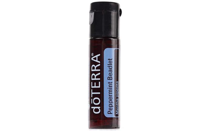 Bottle of DoTerra Peppermint Beadlets