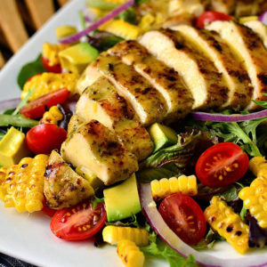 Grilled Chicken Salad