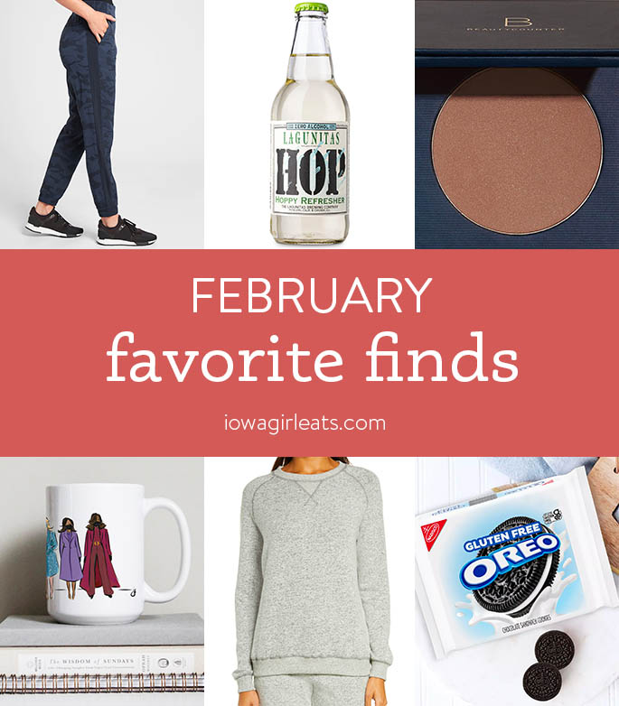 Iowa Girl Eats Favorite Finds February 2021 Photo collage