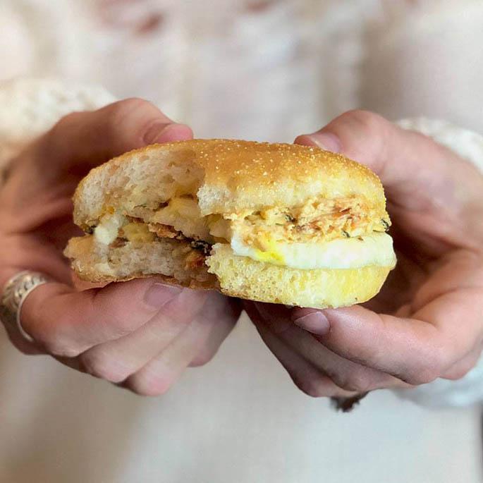 Caribou Gluten Free Spinach Artichoke Provolone Sandwich